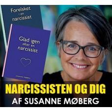 Bogpakke: Forelsket i en narcissist & Glad igen efter en narcissist